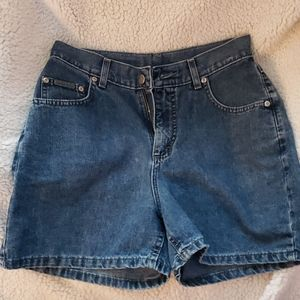 Dark Wash Lee Jean Shorts